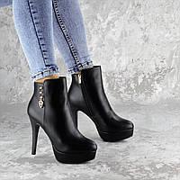 Ботильоны женские Fashion Epy 2252 40 размер 25,5 см Черный