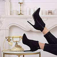 Ботильоны женские Fashion Gale 2472 37 размер 24 см Черный