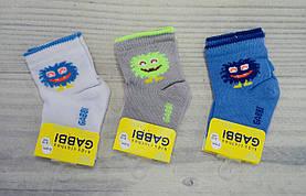Носки Монстры NSM-176, размер детских носков 8-10, 0-6 месяцев 90176(8-10),c, GABBI Украина