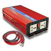 Преобразователь напряжения 12/220 POWERone PLUS PI-2500. Инвертор 2500 Вт, для аккумуляторов