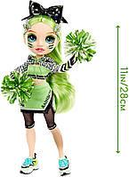 Кукла Рейнбоу Хай Джейд Хантер Чирлидер - Rainbow High Cheer Jade Hunter Green Cheerleader 572060EUC Оригинал