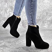 Ботильоны женские Fashion Ranalldo 2392 35 размер 23 см Черный