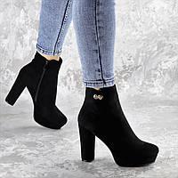 Ботильоны женские Fashion Sabryna 2398 39 размер 25 см Черный