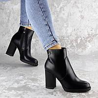 Ботильоны женские Fashion Skid 2221 38 размер 24,5 см Черный