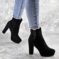 Ботильоны женские Fashion Skoobee 2407 38 размер 24,5 см Черный