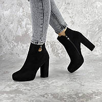 Ботильоны женские Fashion Storytime 2388 37 размер 24 см Черный