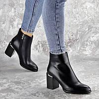 Ботильоны женские Fashion Tijuana 2418 38 размер 24,5 см Черный
