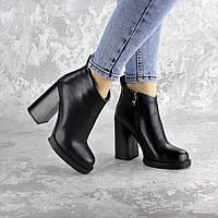 Ботильоны женские Fashion Tito 2458 40 размер 25,5 см Черный