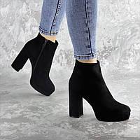 Ботильоны женские Fashion Trix 2453 37 размер 24 см Черный