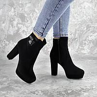 Ботильоны женские Fashion Truman 2416 37 размер 24 см Черный