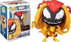 Фігурка Funko Pop Симбиот Крик Марвел Scream Symbiote 10см FP M SS 671