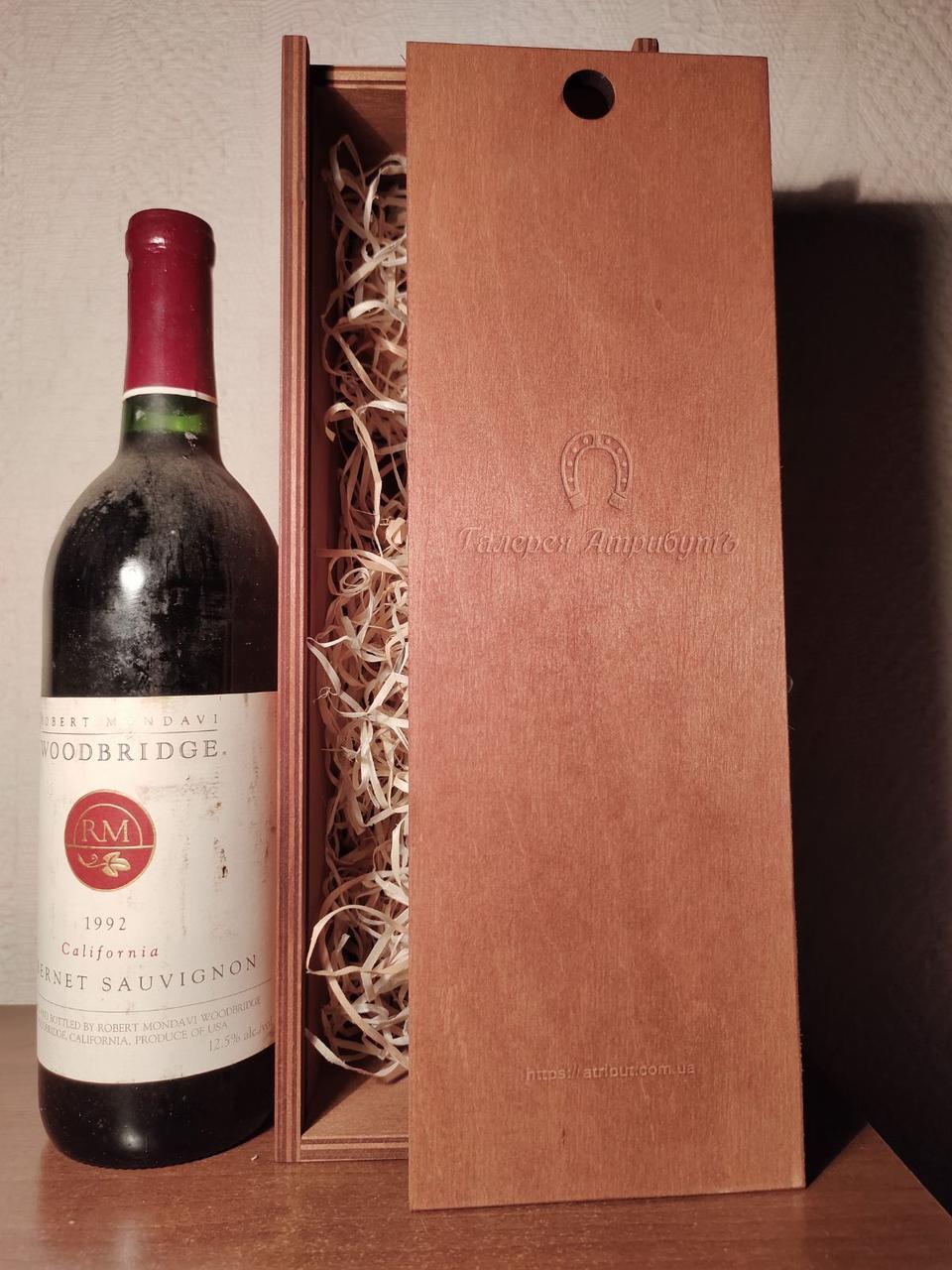 Вино 1992 года Cabernet Sauvignon California США винтаж