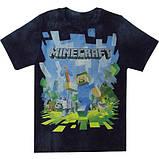 Футболка Стів Майнкрафт Minecraft на ріст 128, фото 2