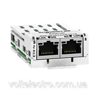 Коммуникационная карта Ethernet ATV32 LXM32