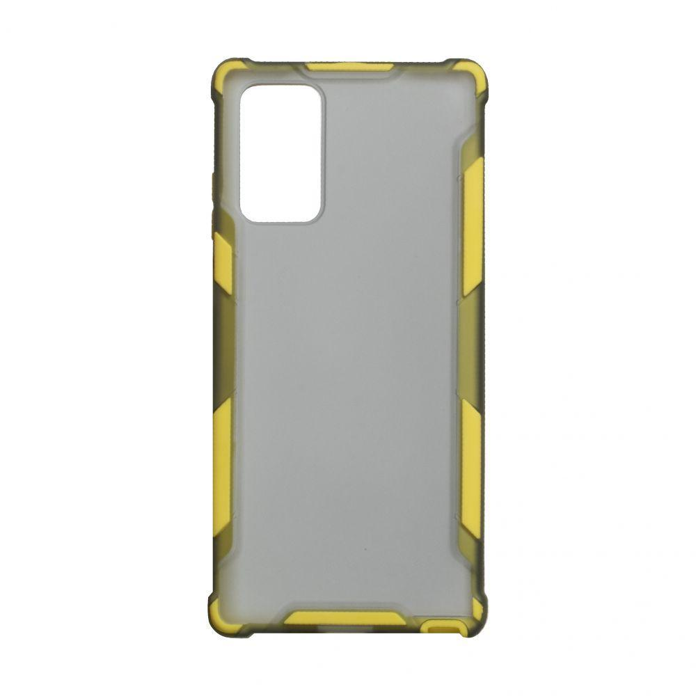 Чехол Armor Case Color для Samsung Galaxy Note 20 Ultra SM-N986 Желтый