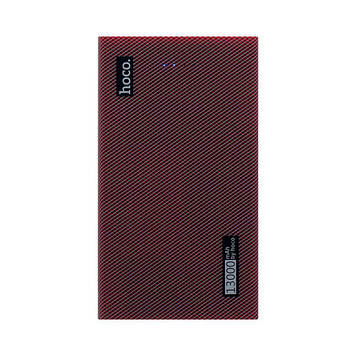 Портативная батарея Power Bank Hoco B36 LED индикатор 13000 mAh Красный