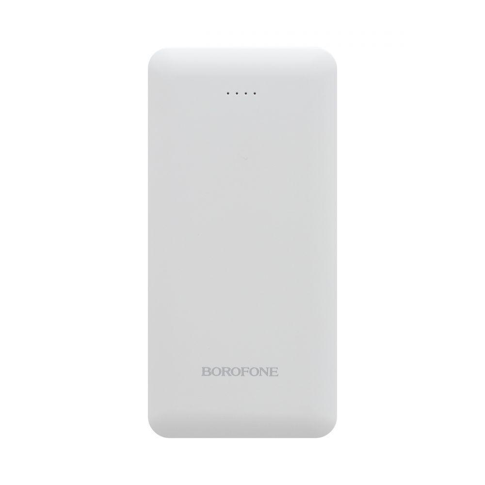 Портативная батарея Power Bank Borofone DBT02 LED индикатор 18000 mAh Белый