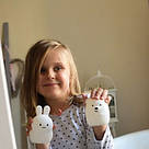 Силіконовий нічник Click Ведмідь нічні звірята дитячий 11 см SKL17-223469, фото 10