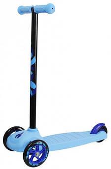 Cамокат трехколесный Playtive Junior Германия голубой