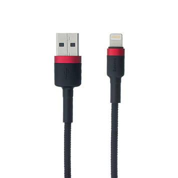 Кабель Baseus CALKLF-C USB - Lightning Красно-Черный