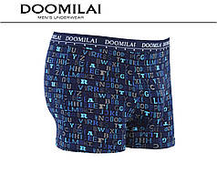 Чоловічі боксери стрейчеві з бамбука «DOOMILAI» Арт.D-01454