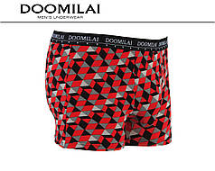 Чоловічі боксери стрейчеві з бамбука «DOOMILAI» Арт.D-01455