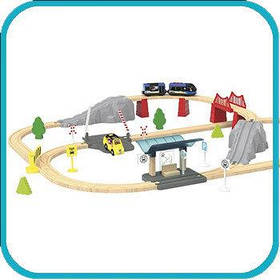 Деревянная железная дорога Playtive Lillabo