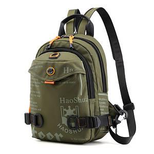 (31*20)Модные мужские сумки Рюкзаки-слинг на грудь Многофункциональные дорожные сумки опт