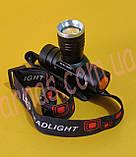 Аккумуляторный фонарь WD-128 (5808), фото 3