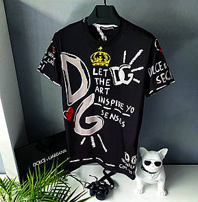 Чоловіча футболка, люкс D&G 2021