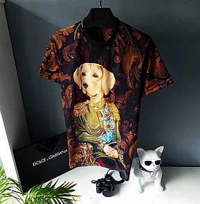 Чоловіча футболка, люкс D&G 2021 Dog