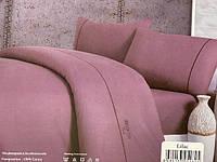 Постельное белье Maison D'or Spring лиловый ранфорс евро