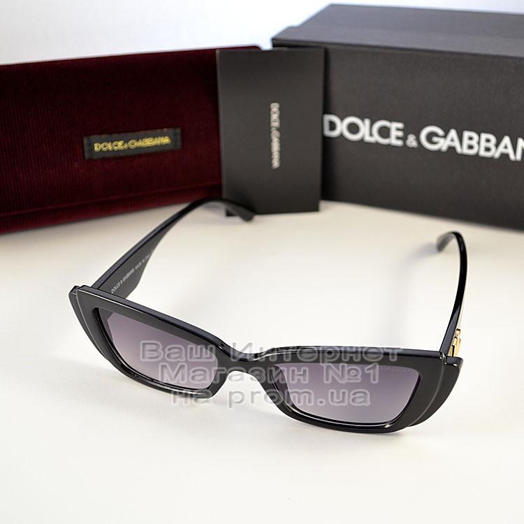 Женские узкие солнцезащитные очки Dolce & Gabbana Брендовые модная новинка 2021 Дольче Габбана реплика