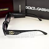 Женские узкие солнцезащитные очки Dolce & Gabbana Брендовые модная новинка 2021 Дольче Габбана реплика, фото 3