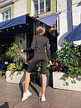 Спортивний костюм двійка кофта + бриджі тканина мікродайвінг розмір: S-M, L-XL., фото 5