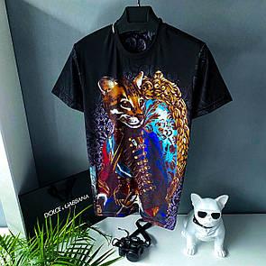 Чоловіча футболка, люкс D&G 2021 Cat