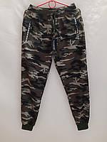 """Спортивні штани чоловічі на манжетах камуфляжні розміри M-3XL (2цв) """"ZERO"""" недорого від прямого постачальника"""
