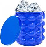 Силіконова форма для заморозки льоду Ice Cube Maker Айс куб міні відро для заморозки льоду, фото 3