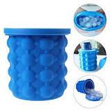 Силиконовая форма для заморозки льда Ice Cube Maker Айс куб мини ведро для заморозки льда, фото 4