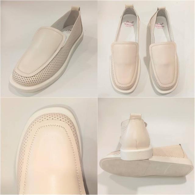 Стильные женскиебежевые туфли, Dino Vittorio фото