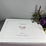 Комплект Хлопкового Постельное Белья Ранфорс C Вафельным Покрывалом-Пледом Евро Размер Турция Istanbul, фото 3