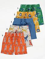 Яскраві трикотажні шортики Сафарі для хлопчика Джордж (поштучно), фото 1