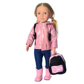 Лялька M 4044-45-46 UA рюкзак, вірш, 3 види, муз. (укр.)-пісня, бат. (таб.), кор., 50-18-12 см.