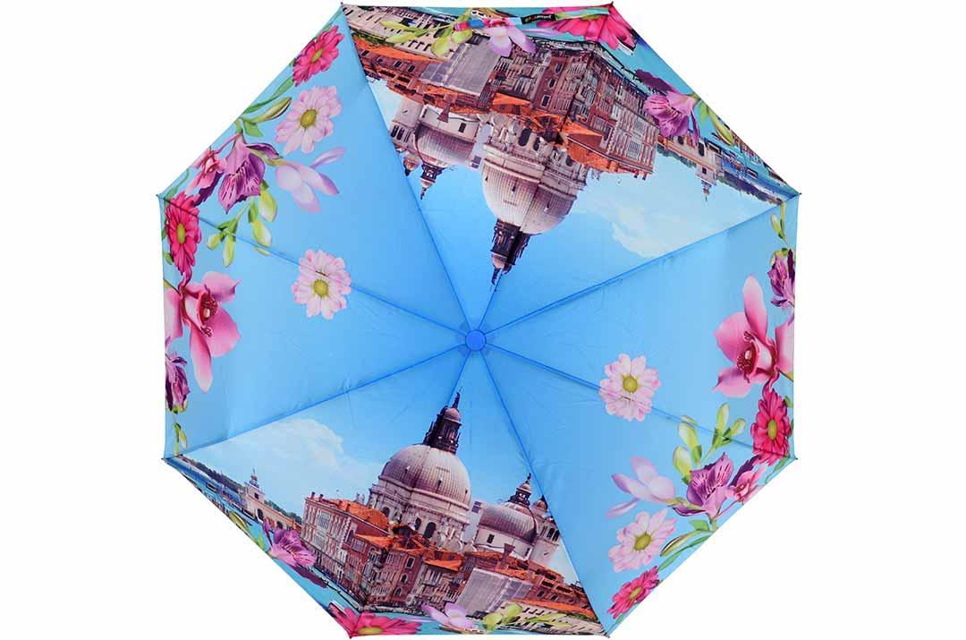 Жіноча парасолька Lantana ( напівавтомат ) арт. 813-04