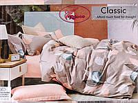 Постельное белье фланель  200х230 | Двуспальный комплект постельного белья | Двоспальна постільна білизна