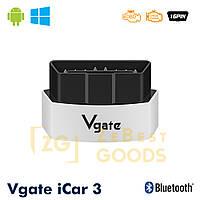 Автосканер Vgate iCar3 OBD 2 ELM327 OBD2 Bluetooth 3.0, фото 1