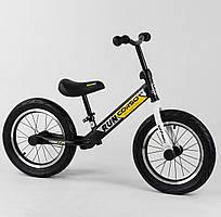 Велобег CORSO 14д. стальная рама, колеса надувные резиновые, алюминиевые диски