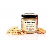 Паста ореховая арахис с белым шоколадом 200 г