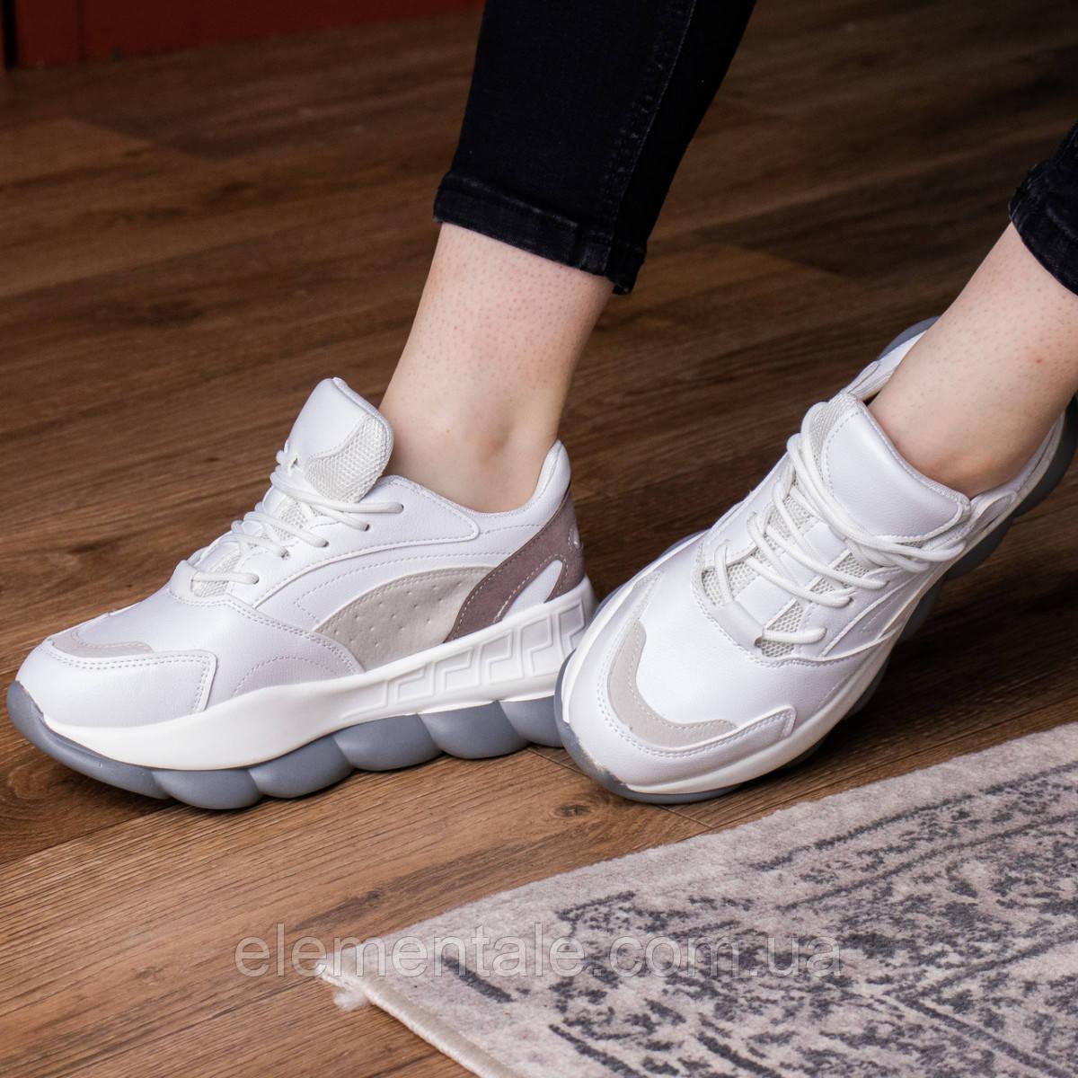 Женские кроссовки 39 размер 24 см Белые