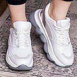 Женские кроссовки 39 размер 24 см Белые, фото 2